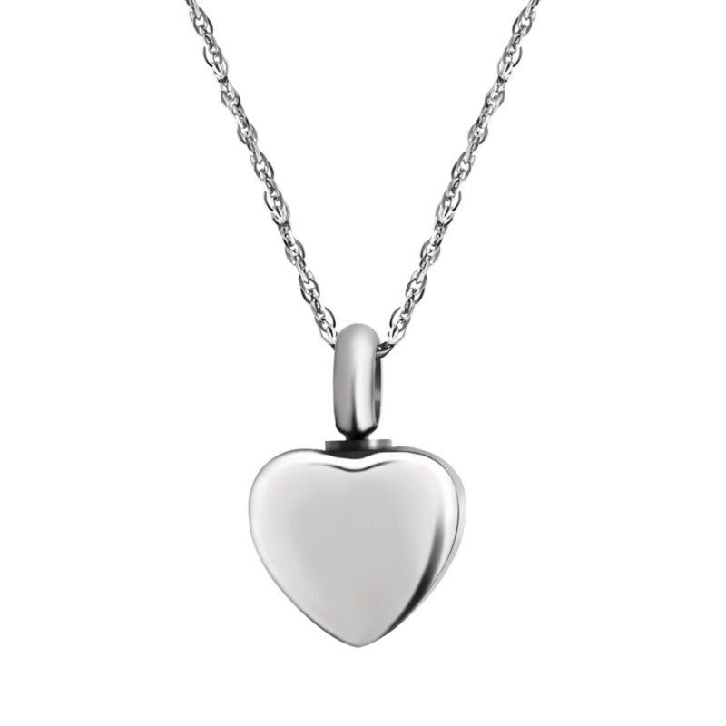 Silver Mini Heart