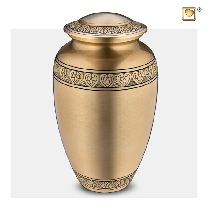 Always and Forever Memorial Products: Infinity Gold Cremation Urn