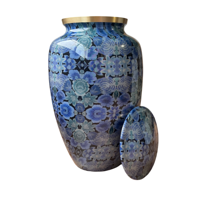 Always and Forever Memorial Products: Cloisonne Blue