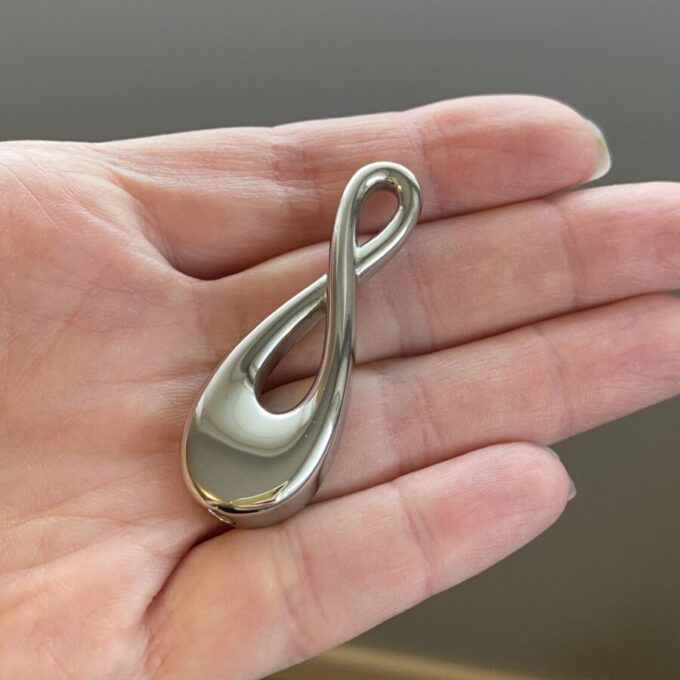 Infinity Cremation Pendant Large