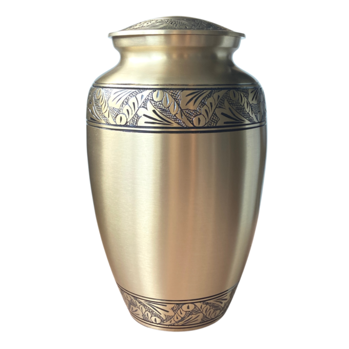 Always and Forever Memorial Products: Legacy Gold Urn
