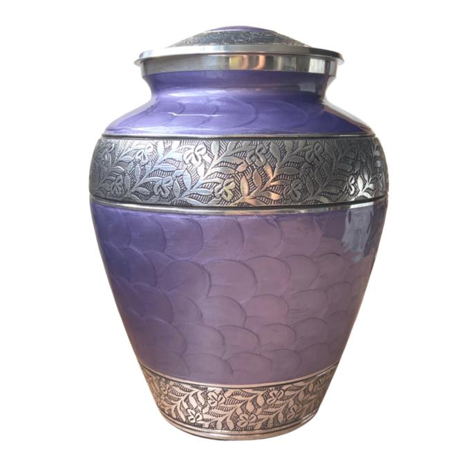 Lavender Cremation Urn