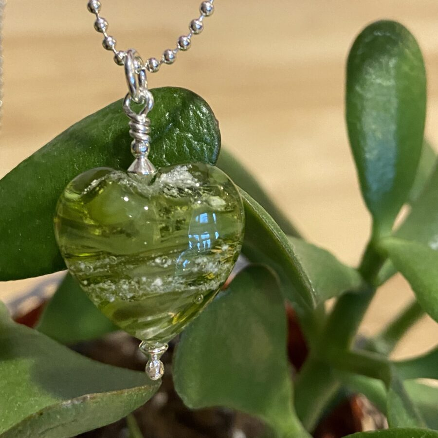 Glass Heart – Green