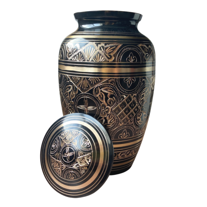 Radiance-Black-Cremation-Urn
