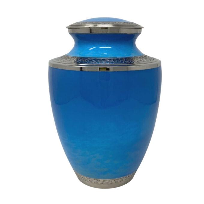 ocean-blue-brass-urn