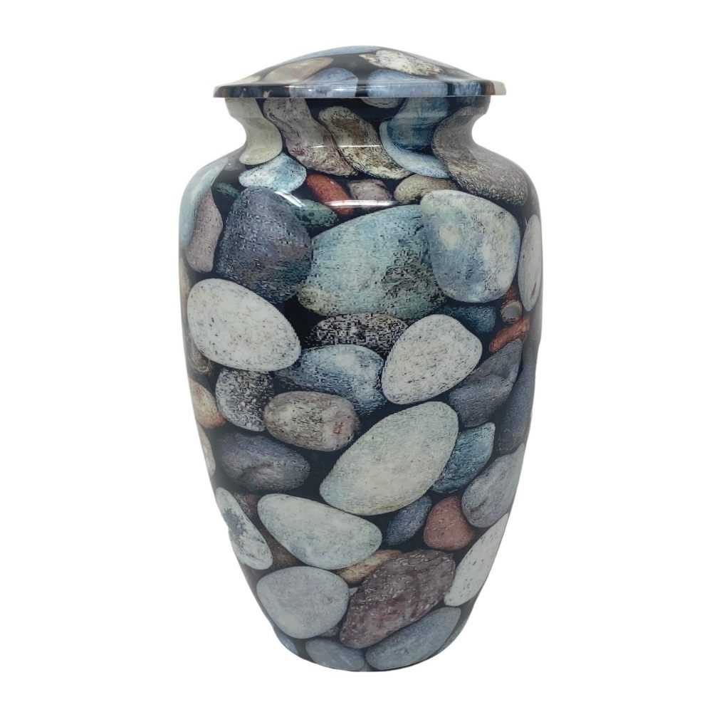 Beach Stones Urn