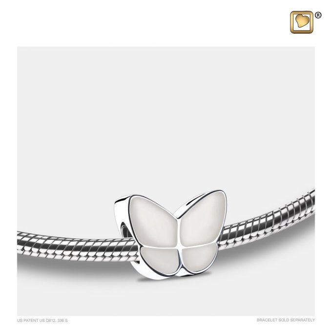 Always and Forever Memorial Products: Wings Of Hope Bead Pearl