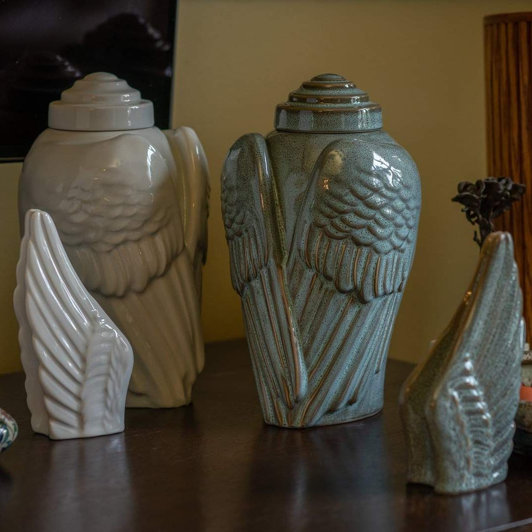 Angel Wings Urn – 10 Color Options