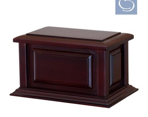 Always and Forever Memorial Products: Federal Cherry Wood Urn