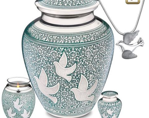 Always and Forever Memorial Products: Soaring Doves Cremation Collection